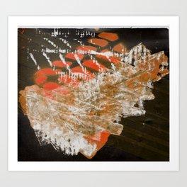Materials Collage Art Print