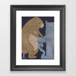 boogie bear Framed Art Print