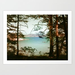 Søndre Sandøy One Art Print