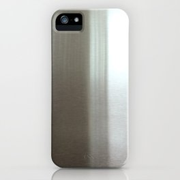 Industrial Brushed Stainless iPhone Case