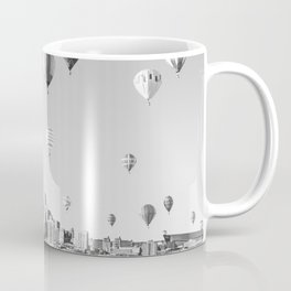 Another Minneapolis, Minnesota Skyline with Hot Air Balloons Over the City Coffee Mug