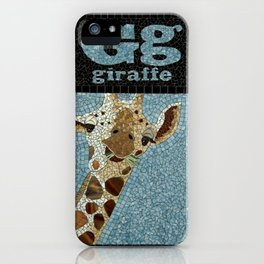 Gg Giraffe iPhone Case