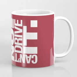 Yes it's fast No you can't drive it v2 HQvector Coffee Mug