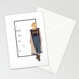 the 13th doctor Stationery Cards
