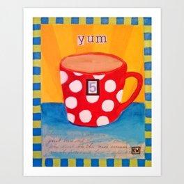 Yum Art Print
