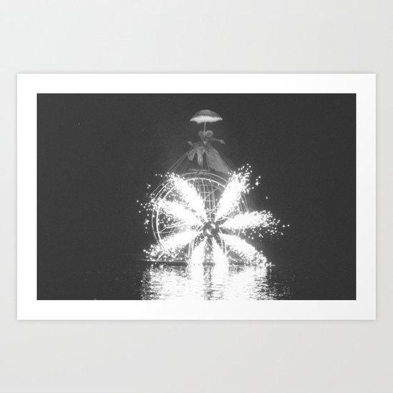 """""""Wonders on a water"""" Art Print"""
