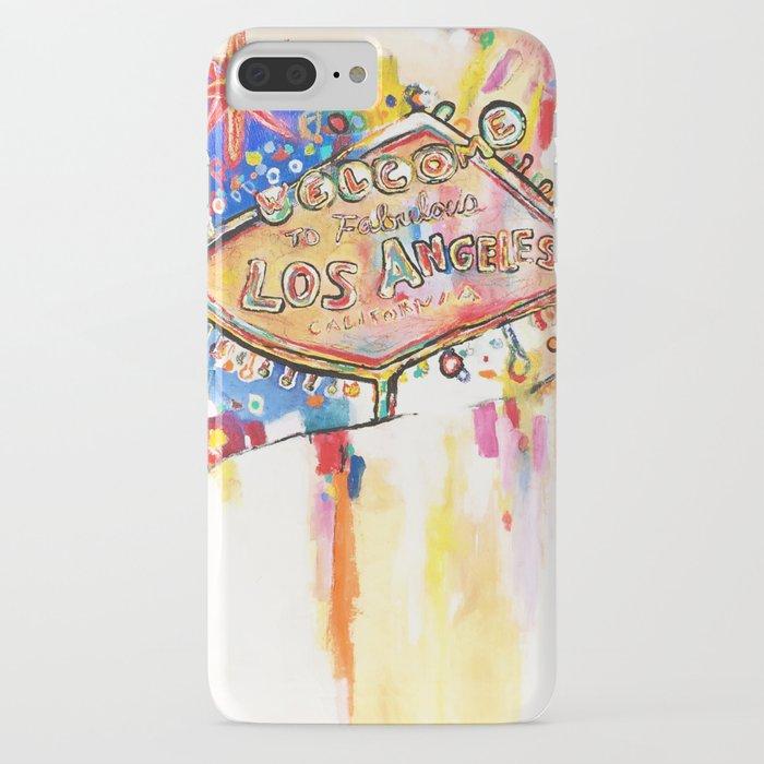 Las Angeles  iPhone Case