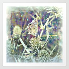 And Then There Was You - Magic In The Garden Art Print