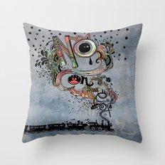 No Concept Throw Pillow