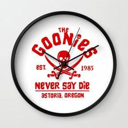 The Goonies Wall Clock