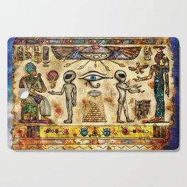 Ancient Aliens Cutting Board
