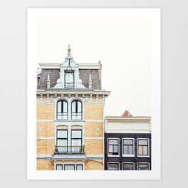 Dutch Baroque, Amsterdam Travel Photography Art Print