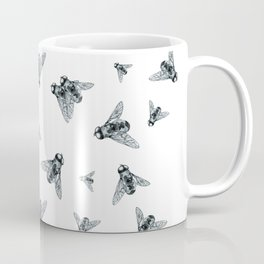 Fly Dotwork Coffee Mug