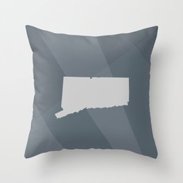 Connecticut State Throw Pillow