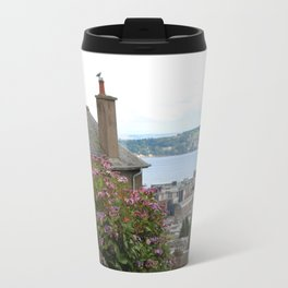 House on a Hilltop Travel Mug