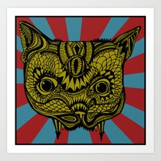 PsyChat Art Print