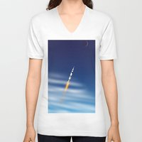 apollo V-neck T-shirts featuring Apollo by Colorado Vectors