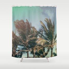Vintage Palm Hawaii Summer Daze Shower Curtain