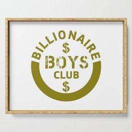 billionaire boys club #society6 #decor #buyart #artprint Serving Tray