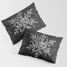 January Snowfake #5 Pillow Sham