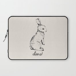 cheers little bunny Laptop Sleeve