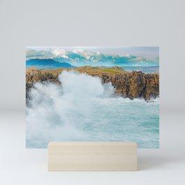 Cabo de Latas - Santander Mini Art Print