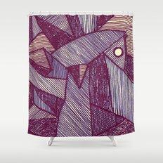 - batpunk - Shower Curtain