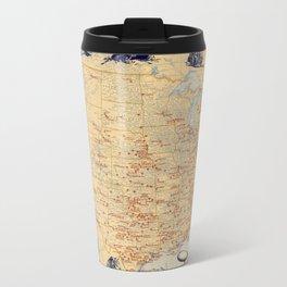 American Military Posts 1944 Travel Mug