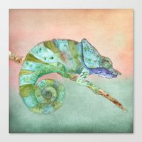 karma Canvas Prints featuring Karma by Catherine Holcombe