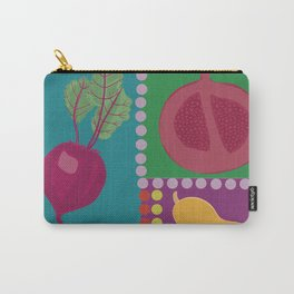 Fun Fruits and Veggies Carry-All Pouch