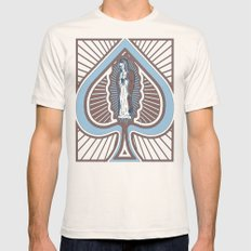 Our Lady of Spades Mens Fitted Tee MEDIUM Natural