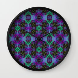 Tryptile 27b (Repeating 1) Wall Clock