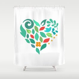 Love Shower Curtain
