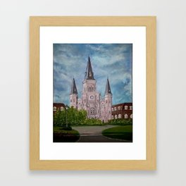 St. Louis Cathederal Framed Art Print