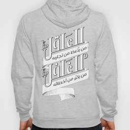 A sane who Learn a lesson from his experience، Insane whose repeat his mistakes. Hoody