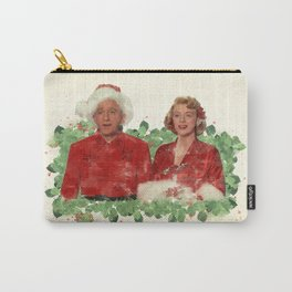 Bob & Betty (White Christmas) Carry-All Pouch