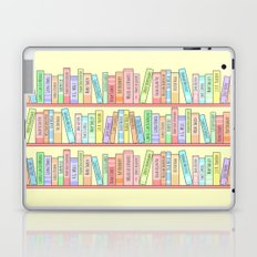 Classics Bookshelf Laptop & iPad Skin