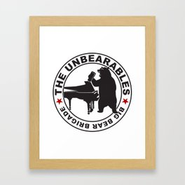 The UnBearables Framed Art Print