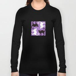 Blueberry Cats Long Sleeve T-shirt