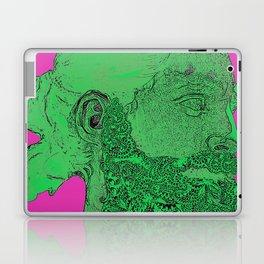 Hipster Neptune - Seaweed Laptop & iPad Skin