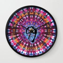 Nicolas Cage Third Eye - Tie Dye Shambhala Wall Clock