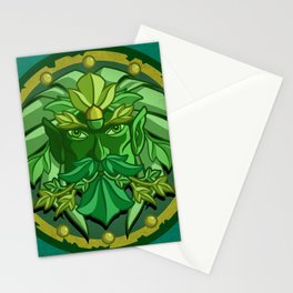 Green Man Stationery Cards