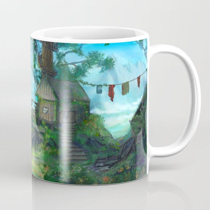 Cliffside Observatory Coffee Mug