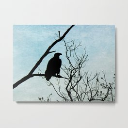 Eagle Waiting Metal Print