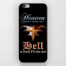 Heaven & Hell Bat iPhone & iPod Skin