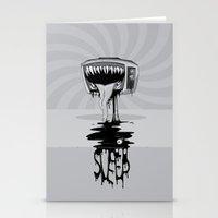 sleep Stationery Cards featuring Sleep by vsMJ