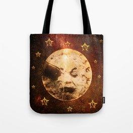 Viaje a la Luna Tote Bag