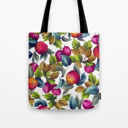 Watercolor Fruit Tote Bag