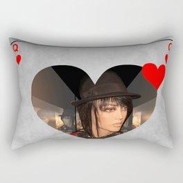 queen of hearts Rectangular Pillow