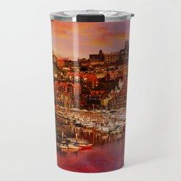 Whitby Port Travel Mug